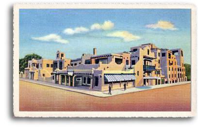 Historic Adobe Architecture Of Santa Fe